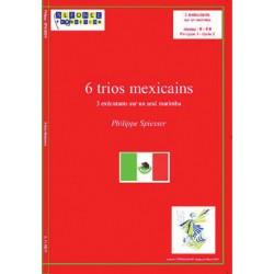 6 trios Mexicains
