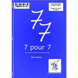 7 pour 7 (piano 6 mains)