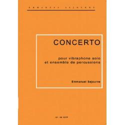Concerto (vibra solo et 5 percus)