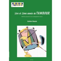 1ere et 2eme annees de tambour (avec CD)