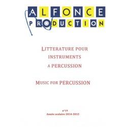 Percussions catalog 2015-2016