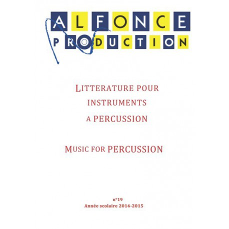 Catalogue de Percussion 2015-2016