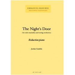 The Night's Door - Reduc piano -