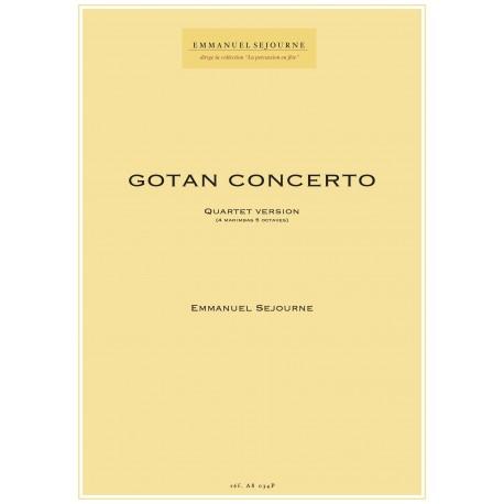 GOTAN CONCERTO (quartet version)