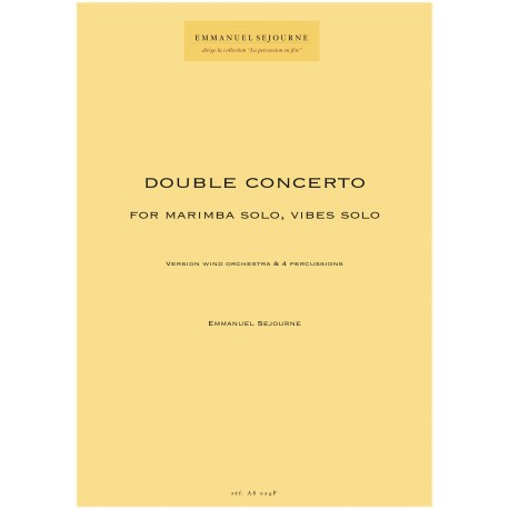 DOUBLE CONCERTO version Wind Orchestra
