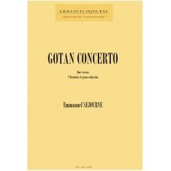 GOTAN (Reduc piano et 2 marimbas)