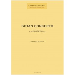 GOTAN CONCERTO (2 marimbas et cordes)