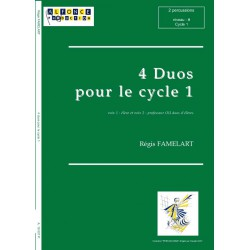 4 duos pour le cycle 1