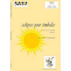 Eclipses pour timbales (avec CD)