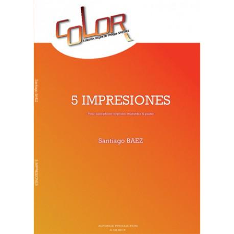 5 impresiones