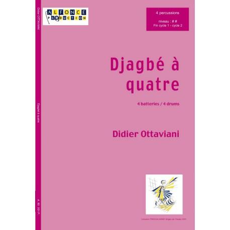 Djagbe a quatre (quatuor)