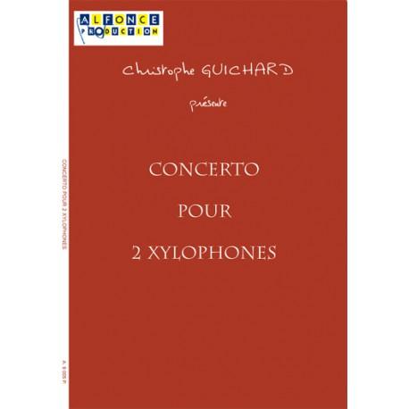 Concerto pour 2 xylophones et Orchestre a cordes (string orchestra)