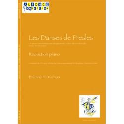 Les danses de Presles - score et cordes -