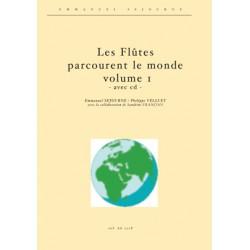 Les flutes parcourent le monde vol.1 (avec cd)