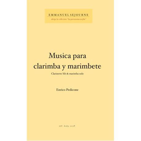 Musica para clarimba y marimbete