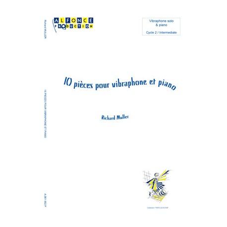 10 pieces pour vibraphone et piano