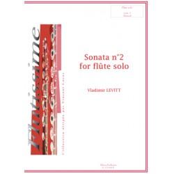 Sonata n2 for flute solo