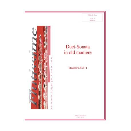 Duet-sonata in old maniere