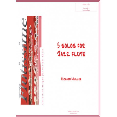 5 solos for jazz flute
