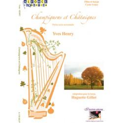 Champignons et châtaignes - Version avec harpe -