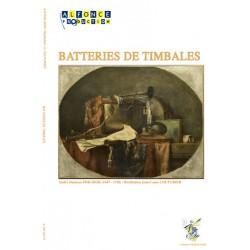 Batteries de timbales