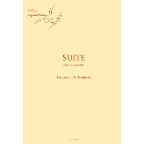 Suite pour 3 violoncelles