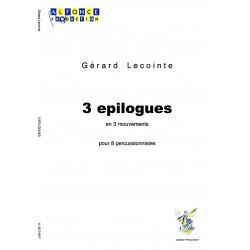3 Epilogues