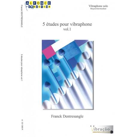 5 Etudes pour vibraphone - vol.1 -