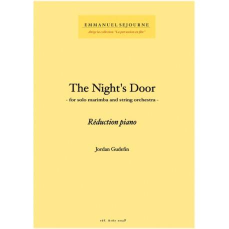 The Night's Door - Reduc piano -