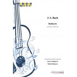 Badinerie de la suite n2 BWV 1067