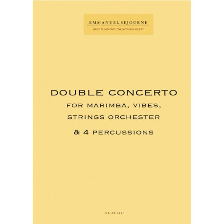 DOUBLE CONCERTO (Version string orchestra)