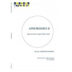 Aphorismes II