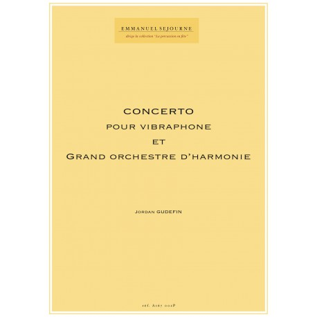 Concerto pour vibraphone et grand orchestre d'harmonie