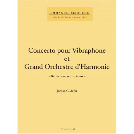 Concerto pour vibraphone et grand orchestre d'harmonie (reduc 2 pianos)