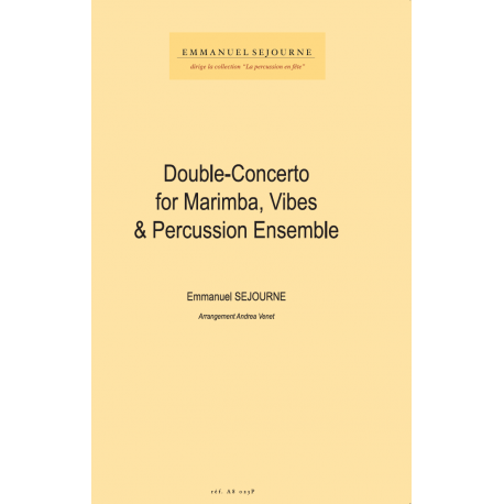 Double Concerto for marimba, vibes and percussion ensemble