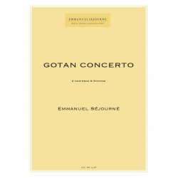 GOTAN CONCERTO (4 marimbas et cordes)
