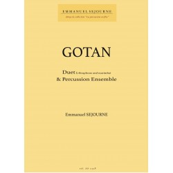 GOTAN CONCERTO pour duo et ensemble de percussion