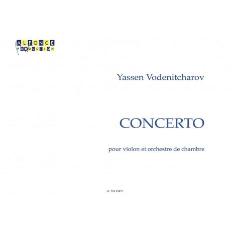 Concerto pour violon et orchestre de chambre