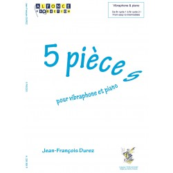 5 Pièces pour vibra et piano