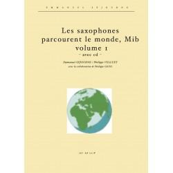 Les saxophones mib parcourent le monde vol.1 (avec cd)