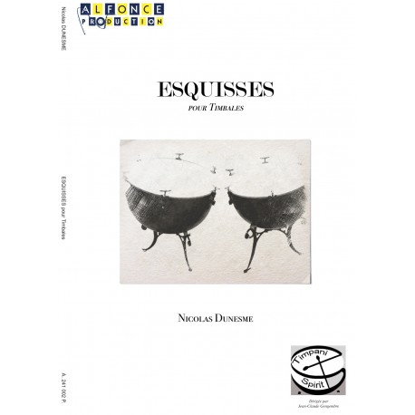 Esquisses pour timbales